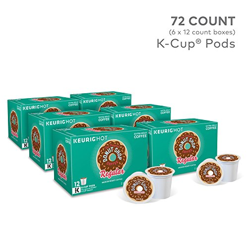 The Original Donut Shop Keurig Single-Serve K-Cup Pods, Regular Medium Roast Coffee, 72 Count by The Original Donut Shop (Image #2)