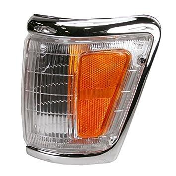 Chrome Side Parking Light Left for 92-95 Toyota Pickup 4x4