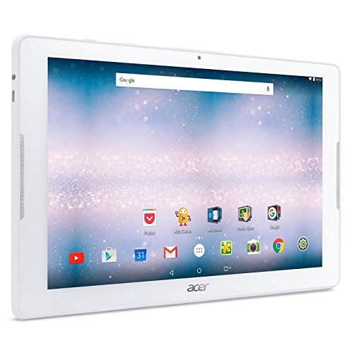 Acer Iconia One 10 10.1' IPS Android 6.0 Tablet Quad Core 1.3GHz 1GB 16GB - White (Certified Refurbished)