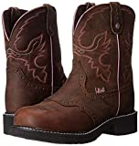 """Justin Boots Women's Gypsy Collection 8"""" Steel"""