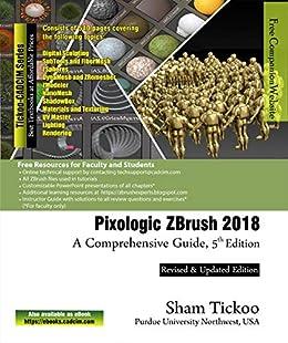 Amazon com: Pixologic ZBrush 2018: A Comprehensive Guide