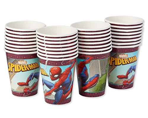(American Greetings Spider Man 2 Party Supplies, Disposable 9 oz. Paper Cups,)