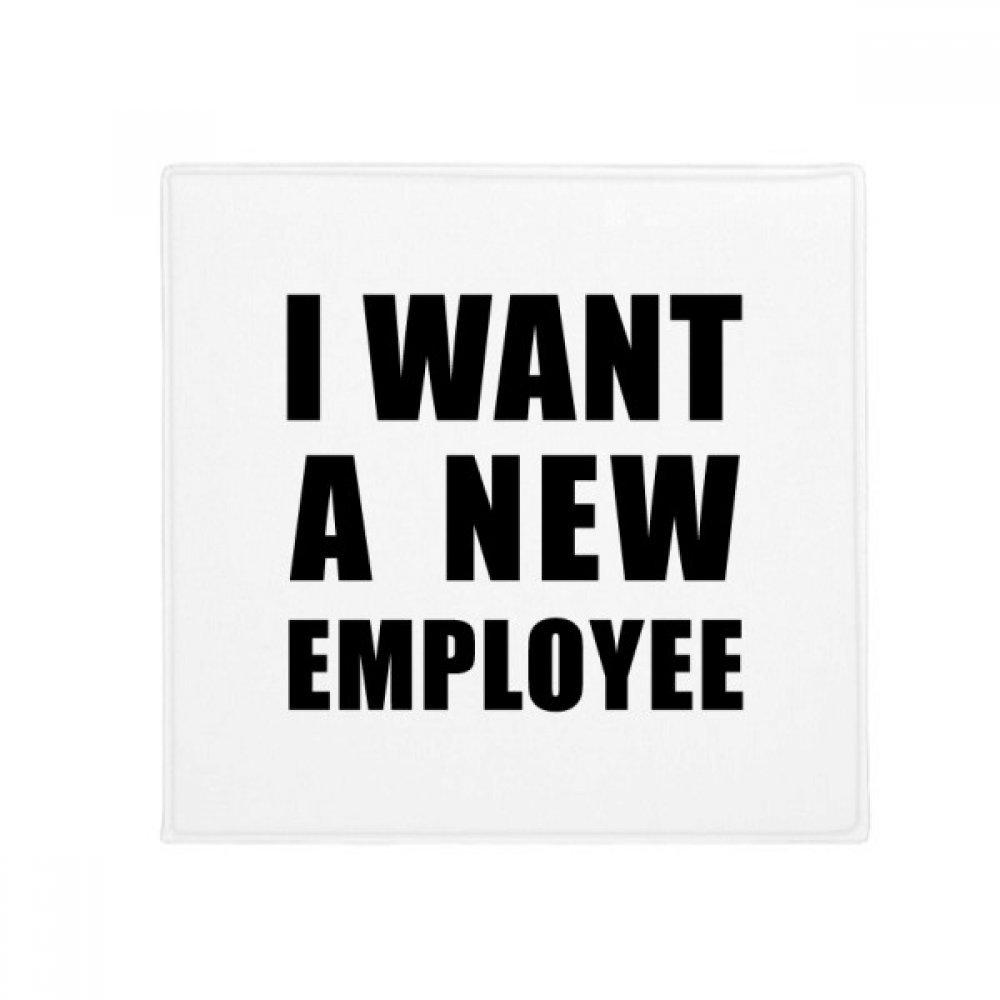 DIYthinker I Want A New Employee Anti-Slip Floor Pet Mat Square Home Kitchen Door 80Cm Gift