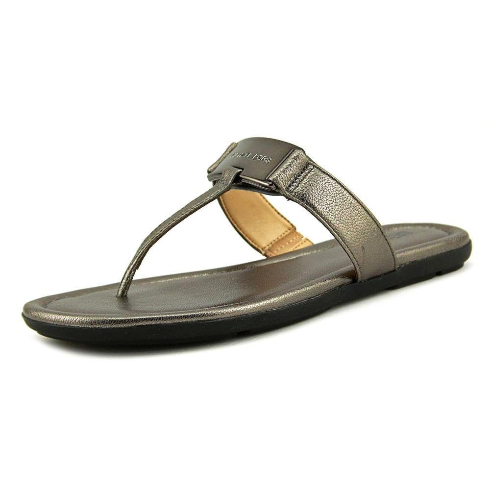cabdd9ced98b Michael Michael Kors Colleen Thong Women US 6 Silver Thong Sandal  Amazon.co .uk  Shoes   Bags