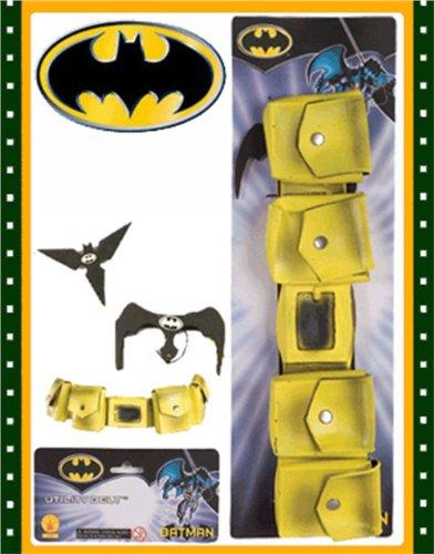 Batgirl Utility Belt (Rubies Yellow Batman Utility Belt with Bat Gear)