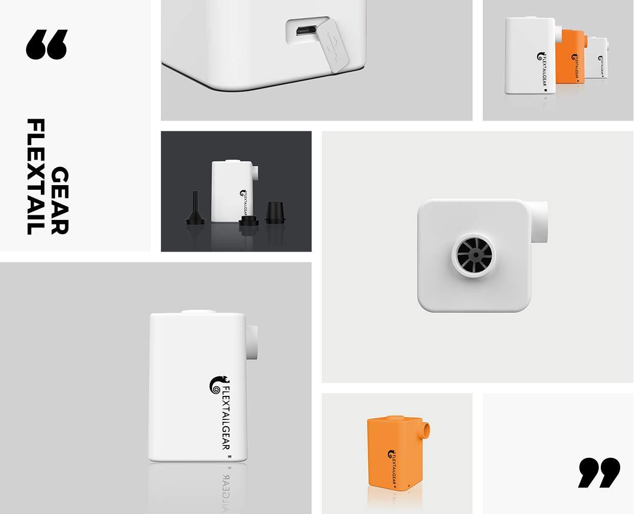 Flextail Gear Pompe /à air /électrique avec Batterie int/égr/ée 3600 mAh