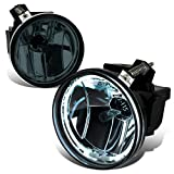 Dodge Dakota / Durango Pair of Bumper Halo Ring Fog Lights+CCFL Power Inverter (Smoked Lens)