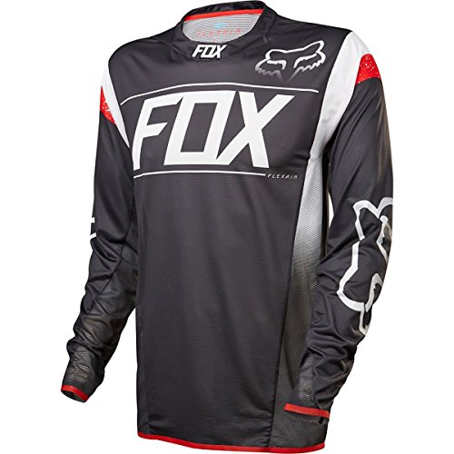 Fox Racing Flexair DH Jersey - Long Sleeve - Men's Kroma Black/White, L