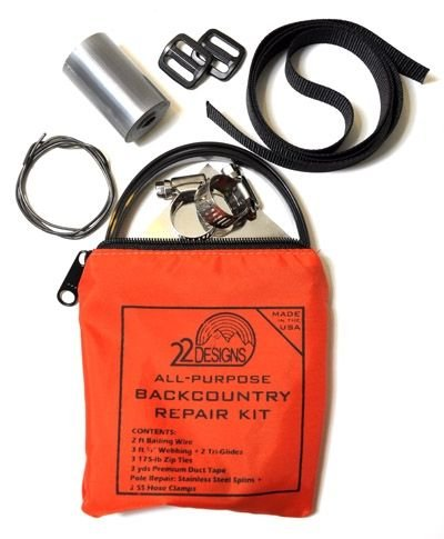 TwentyTwo Designs 22 Designs Universal Backcountry Repair Kit One Color, One Size