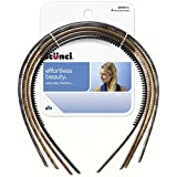 Conair 3696603a048c Thin Headbands, 4 Count