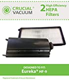 60285 eureka - 2 Replacements for Eureka HF9 HEPA Style Filter Fits Victory & Whirlwind Uprights, Compatible With Part # 0951A, 60951B & 60285, by Think Crucial