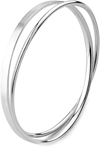 BARGAIN Bin Double Bar Shiny Silver Plated Medium Large Adjustable Wire Bracelet Lead and Nickel Safe 15 SILVER Expandable Bangles