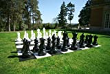 UBER Games Outdoor Giant Size Chess, 24 Inch King Set