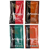 Artisana Organics - Nut Butters Squeeze Packs 4 Flavor Sampler Bundle, USDA Organic Certified and Non-GMO (Cashew, Almond, Walnut and Pecan, 1.06 oz)