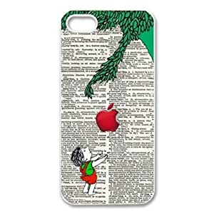 The giving tree cartoon boy with For Iphone 6 Plus Phone Case Cover Hard Plastic case