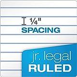 "TOPS The Legal Pad Writing Pads, 5"" x 8"", Jr. Legal"