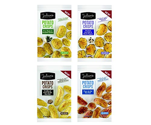 Julian's Recipe Potato Crisps, 4 Flavor Variety Pack, 3 oz Bags (Pack of - Potatoes Fingerling