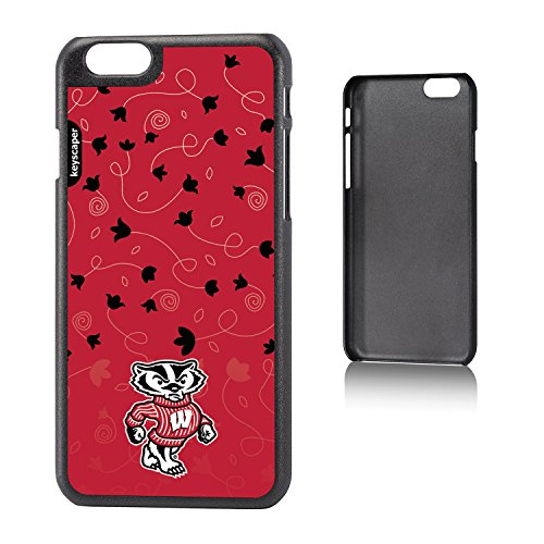 UPC 840816190317, Wisconsin Badgers iPhone 6 & iPhone 6s Slim Case officially licensed by the University of Wisconsin for the Apple iPhone 6 by keyscaper® Sleek Light Durable Precise Rigid