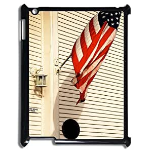 Customized Dual-Protective Case for Ipad 2,3,4, American Flag Cover Case - HL-R643829