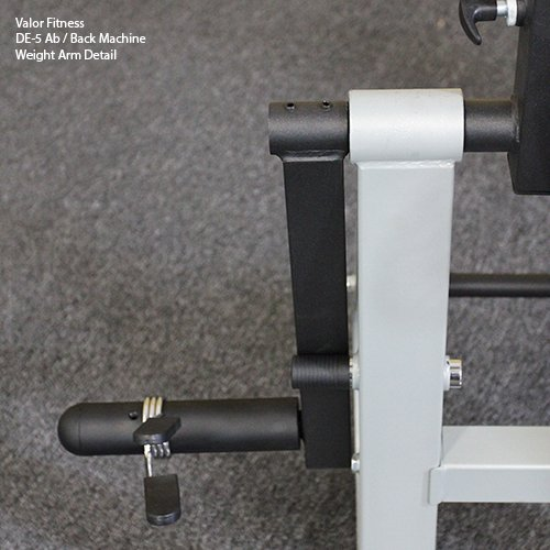 Valor Fitness DE-5 Plate Loaded Ab / Back Machine to Strengthen Lower Back and Core by Valor Fitness (Image #4)
