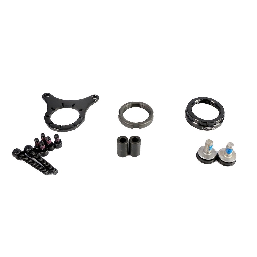 Bafang Handle Lock Nut Mid Motor Mounting Accessary Assembling Parts Electric Bike Installing Parts