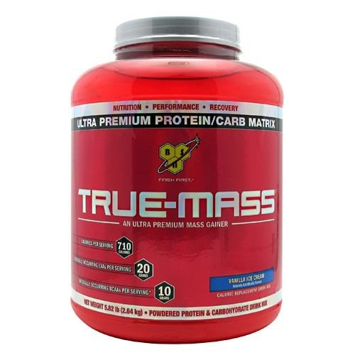 BSN BSN True-Mass, Vanilla Ice Cream, 5.82 lb