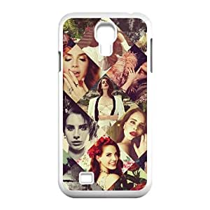 Qxhu Lana Del Rey patterns Pattern Protective Hard Phone Cover Case for SamSung Galaxy S4 I9500
