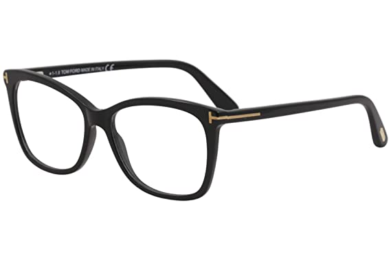 58adc7bbfb0c Image Unavailable. Image not available for. Color  Eyeglasses Tom Ford FT  5514 001 shiny black