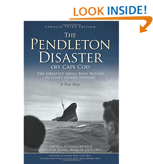 History of us coast guard amazon the pendleton disaster off cape cod the greatest small boat rescue in coast guard history fandeluxe Images