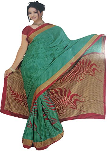 4a569d00eebd47 Oney Boutique Kora cotton Silk Sarees  Amazon.in  Clothing   Accessories