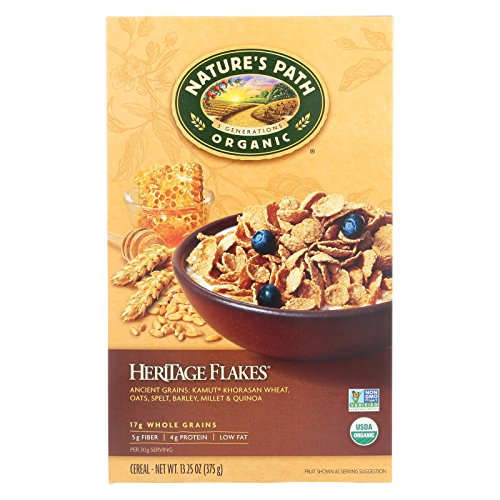Nature's Path Organic Heritage Flakes Cereal - Case of 12 - 13.25 oz. by Nature's Path