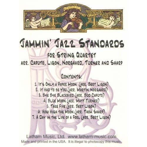 ds for String Quartet - Two Violins, Viola, and Cello - arranged by Bud Caputo (Cello Quartet Music)