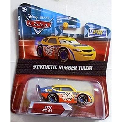 Disney / Pixar CARS Movie Exclusive 155 Die Cast Car with Synthetic Rubber Tires RPM: Toys & Games
