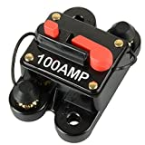 MWGears DC 12-24V 150A In-Line 4, 6 & 8 Gauge Circuit Breaker Fuse for Auto Car Stereo/Audio Protection (150A AMP)