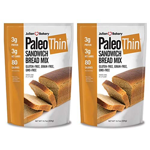 Paleo Bread Mix (2 Pack) (Low Carb, Grain-Free & ()