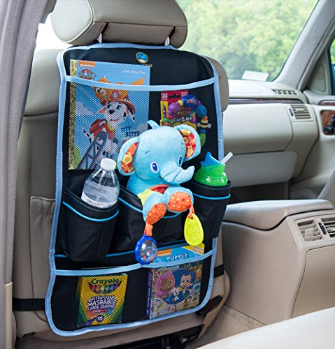 amazoncom logiclux premium quality backseat car organizer black baby