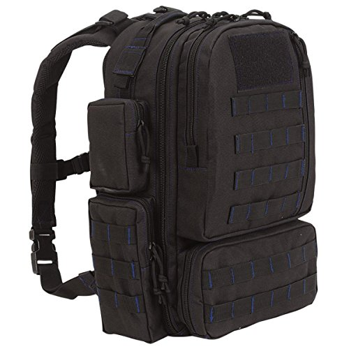 (VooDoo Tactical Custom Series - Mini Tobago Pack (Black with Red Stitching))