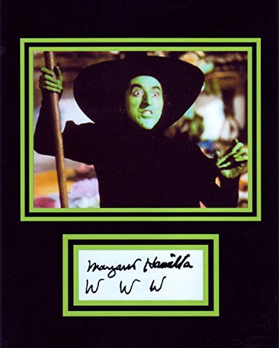 Wizard Of Oz Las Vegas (The Wicked Witch of the West from the Wizard of Oz, 8 X 10 Photo Autograph on Glossy Photo Paper)