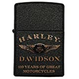 Harley-Davidson? Limited Edition 110th Anniversary Zippo Lighter. 15A-28417