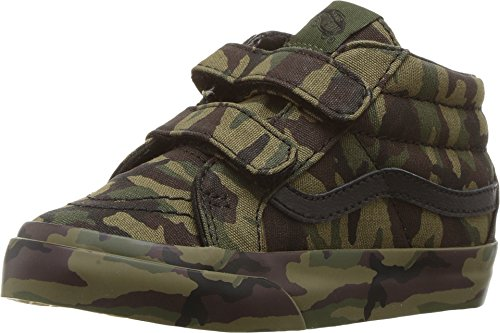 Vans Toddler Sk8-Mid Reissue V (Mono Print) Classic Camo VN0A348JOP3 Toddler 4