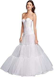 701d1bf2472d0 David s Bridal Extreme Ball Gown Hoop Plus Size Slip Style ...