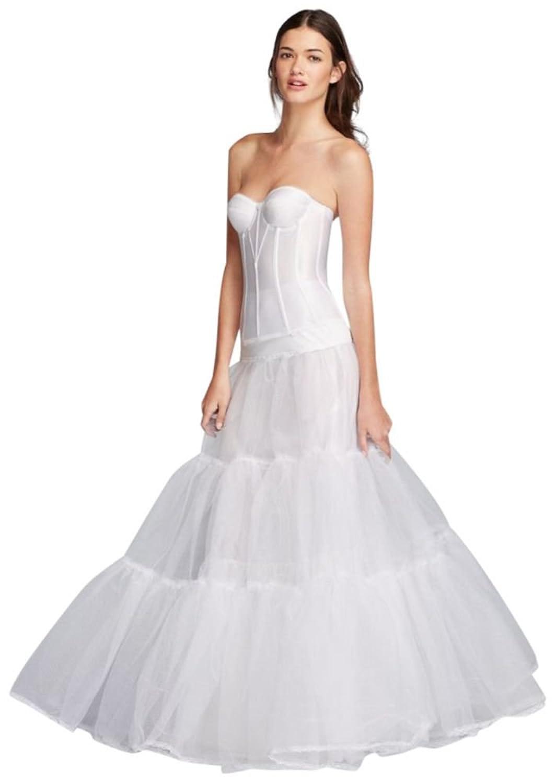 Very Full Bridal Ball Gown Slip Style 2031WHITE, White, 14 at Amazon ...