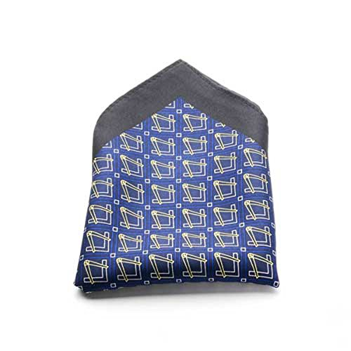Masonic 100% Silk Printed Craft Handkerchief