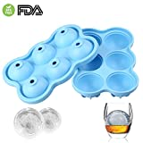 Best Maker Molds - Ice Ball Maker Mold, Ice Cube Trays Silicone Review