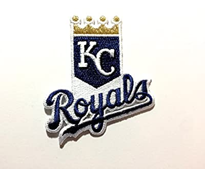 Kansas City Royals Embroidered Iron on Patch MLB