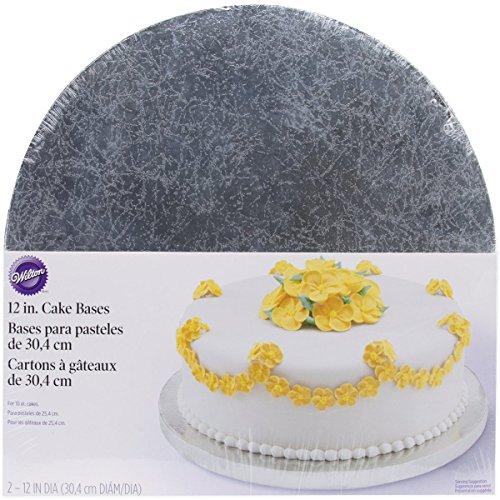 (Wilton Silver Cake Bases, 12 Inch Round)