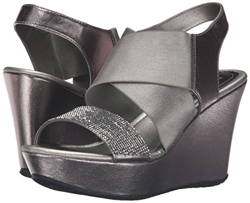 2 Leger Spitzenschuhe mit REACTION Keilabsatz Pewter Kenneth Less Sandalen Sole Cole Frauen XO6qO1