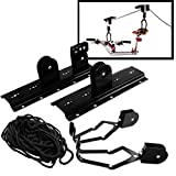 Storage Bike Bicycle Hangers Roof Rack Mount Lift Ceiling Mounted Hoist Garage Hanger Pulley 50 LBS Capacity - Skroutz