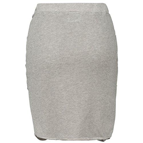 ALAZIA COUTURE Mel, Falda Casual para Mujer Gris (Stone Grey)