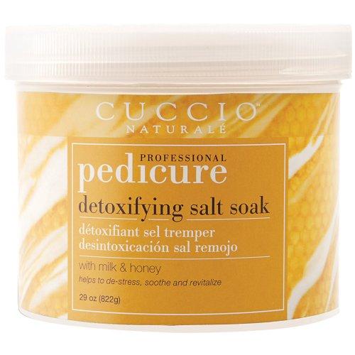 Cuccio Salt Soak, Milk and Honey, 29 Ounce